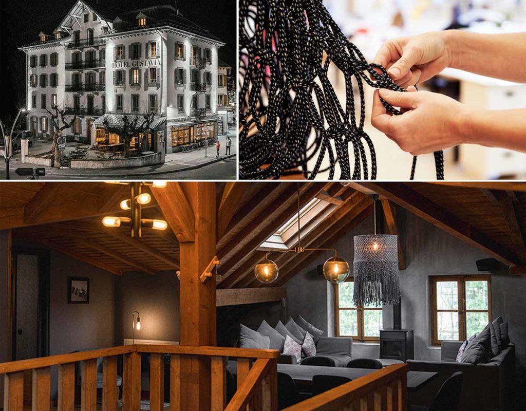 K[not] waste [black] Hotel Gustavia Chamonix Langley